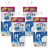 【セット品】チャーミークリスタ クリアジェル 食洗機用洗剤 (詰替大型 840g 4個パック)