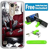 [ Ashely Cases ] LG Stylo 2 ( ls775 ) / Stylo 2 Plus ( ms550 )カバーケーススキンwith柔軟な電話スタンド – Suicide Squad Harley Quinn Wannaplay
