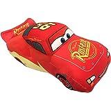 Disney Pixar Cars 3 Plush Stuffed Lightning Mcqueen Red Pillow Buddy - Kids Super Soft Polyester Microfiber, 17 inch (Officia