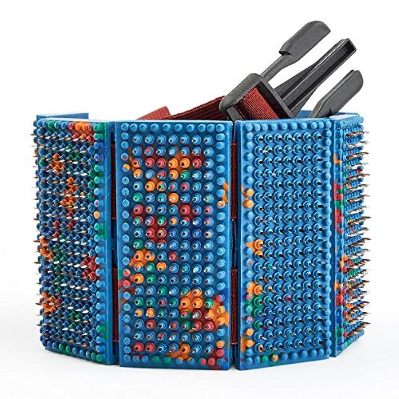 肉の腰なるLYAPKO Acupuncture Belt KID 3.5 Ag 960 Needles 6 Plates with 2 Adjustable Belts. Premium Acupressure Massager...
