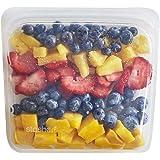 スタッシャー シリコーン バッグ クリア M サンドイッチ 洗って使える 保存 容器 レンジ オーブン 食洗器 対応 冷蔵 冷凍 stasher STSB00