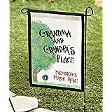 Garden Flag Grandma & Grandpa's Place 18 x 11.5 Great The Grandparents - Gifts for Grandma - Grandpa