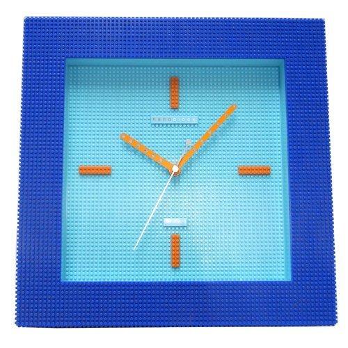 [ナノブロック]nanoblock デコレーション壁掛時計 おまけフィギア付 ウォールクロック ホワイト NAWC-96901WH