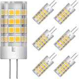 G4 LED Bulbs 5W Equivalent to 40W T3 JC Type G4 Halogen Bulb Bi-Pin G4 Base AC/DC 12V Warm White 3000K G4 LED Light Bulb Not-
