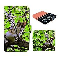 (ティアラ) Tiara プルームテック ケース ploom tech 専用 手帳型 カバー 猫 ねこ ネコ 写真 ペット 子猫 FP267030000001 ねこ 本体 充電器 たばこ カプセル 全部 収納 禁煙