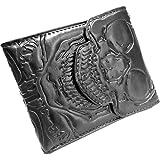 Men's Kreepsville Skull Ribcage Bi Fold Wallet