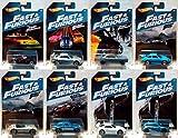 ワイルド・スピード ホットウィール 2017 ウォルマート限定 ダイキャストカー 1/64 ベーシックシリーズ 8台セット / FAST &FURIOUS HOT WHEELS Set of 8 【並行輸入品】ミニカー ダッジ チャージャー アイス ブレイク ICE BREAK