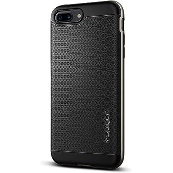 【Spigen】 スマホケース iPhone7 Plus ケース 対応 二重構造 バンパー 米軍MIL規格取得 耐衝撃 ネオ・ハイブリッド 043CS20535 (ガンメタル)
