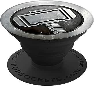PopSockets Thor Monochrome Marvel/ポップソケッツ スマートフォン/タブレット用グリップ&スタンド