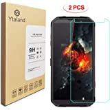 [2 Pack] Ytaland for Blackview BV9500 Screen Protector, Tempered Glass Anti-Fingerprints Thin 9H Hardness Screen Protector fo