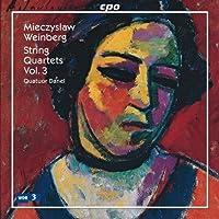 Mieczyslaw Weinberg: String Quartets, Vol. 3 (2009-11-17)