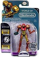 World of Nintendo Metroid Samus Exclusive 4 Action Figure [Metallic Paint] by World of Nintendo