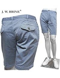 (J.W.ブライン) J.W.BRINE ヘリンボーン柄 ショート パンツ cielo 119333 417188 126/J.W.BRINE [並行輸入品]