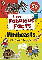 Ladybird First Fabulous Facts Minibeasts Sticker Book