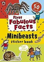 Ladybird First Fabulous Facts Minibeasts Sticker Book