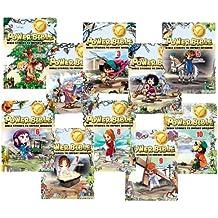 Power Bible #1-10 - Full Set - Kids Comic Bible - Green Egg Media