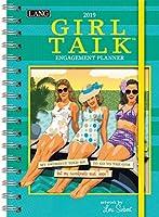 The LANG Companies Girl Talk 2019 Engagement Planner - Spiral (19991011106) [並行輸入品]