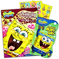 SpongeBob SquarePants Shaped Board Books - Set of Two by Nickelodeon