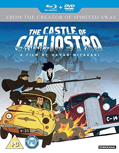 ルパン三世カリオストロの城(英語)Blue ray&DVDコ...