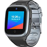 Vowor 4G Smartwatch for Kids with Sim Card, Waterproof Phone Watch with WiFi LBS GPS Tracker Video Chat SOS Camera Alarm Cloc