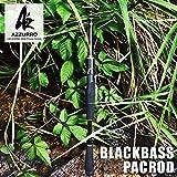 AZ ショートパック バス63S パックロッド テレスコロッド ブラックバス 野池 琵琶湖 様々なフィールドで使用可能。