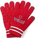SHIELDS(シールズ) グローブ 手袋 ゴルフグローブ Sports Wear ニットグローブ OT-01-04 レッド Freeサイズ
