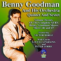 AFRS Benny Goodman Show, Volume 20 by Benny Goodman and His Orchestra and Quintet and Sextet (2013-05-03)