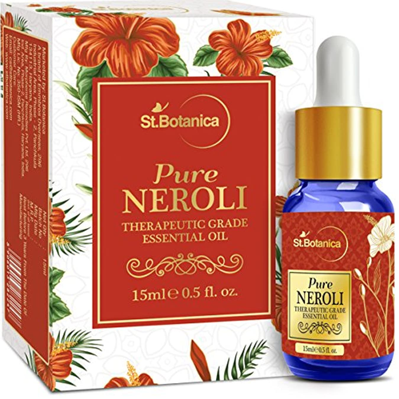 またはオール定義するStBotanica Pure Neroli Pure Essential Oil, 15ml