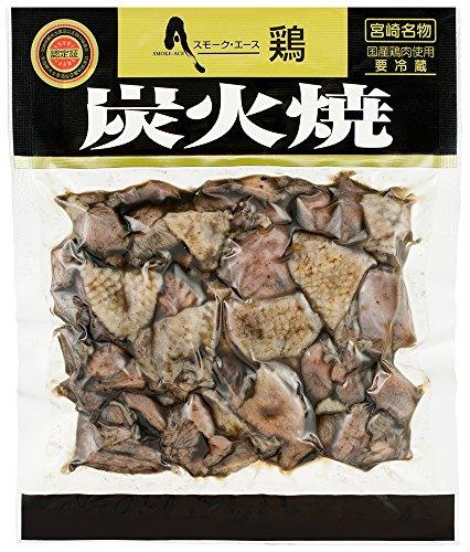 宮崎県 鶏炭火焼 180g 冷蔵発送 鳥もも炭火焼きパック 元祖 そのまま食べれる
