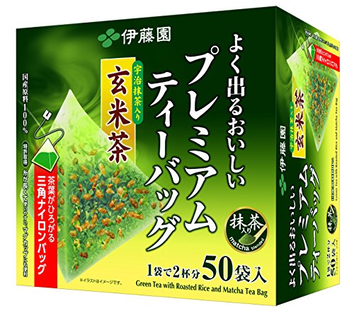 伊藤園 抹茶入り玄米茶 抹茶入り玄米茶50袋