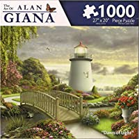 The Art of Alan Giana - Coastal Dreams Collection - Dawn of Light - 1000 Piece Jigsaw Puzzle [並行輸入品]