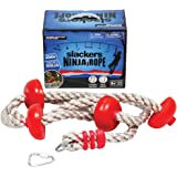 Slackers Ninja Climbing Rope 8' w/Foot Holds