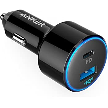 Anker PowerDrive Speed+ 2-1 PD & 1 PowerIQ 2.0(Power Delivery&PowerIQ 2.0対応 2ポートカーチャージャー)iPhone/iPad/Galaxy/Xperia その他Android各種対応