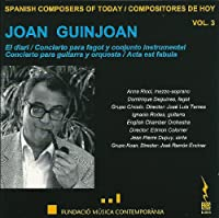 Spanish Composers of Today Vol. 3