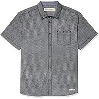 Hammersmith Men's Sheffield Short Sleeve Shirt, Black
