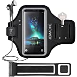 Galaxy S20/S10/S9/S8 Armband, JEMACHE Gym Running Workouts Exercises Phone Arm Band Case for Samsung Galaxy S20/S10/S9/S8/S7