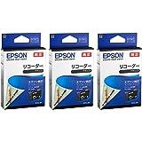 EPSON 純正インク RDH-BK リコーダー ブラック 3本セット