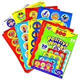 Trend Enterprises トレンド Stinky Stickers Variety Pack Positive Words 【ご褒美シール】 香り付 いいね!  バラエティセット 300枚