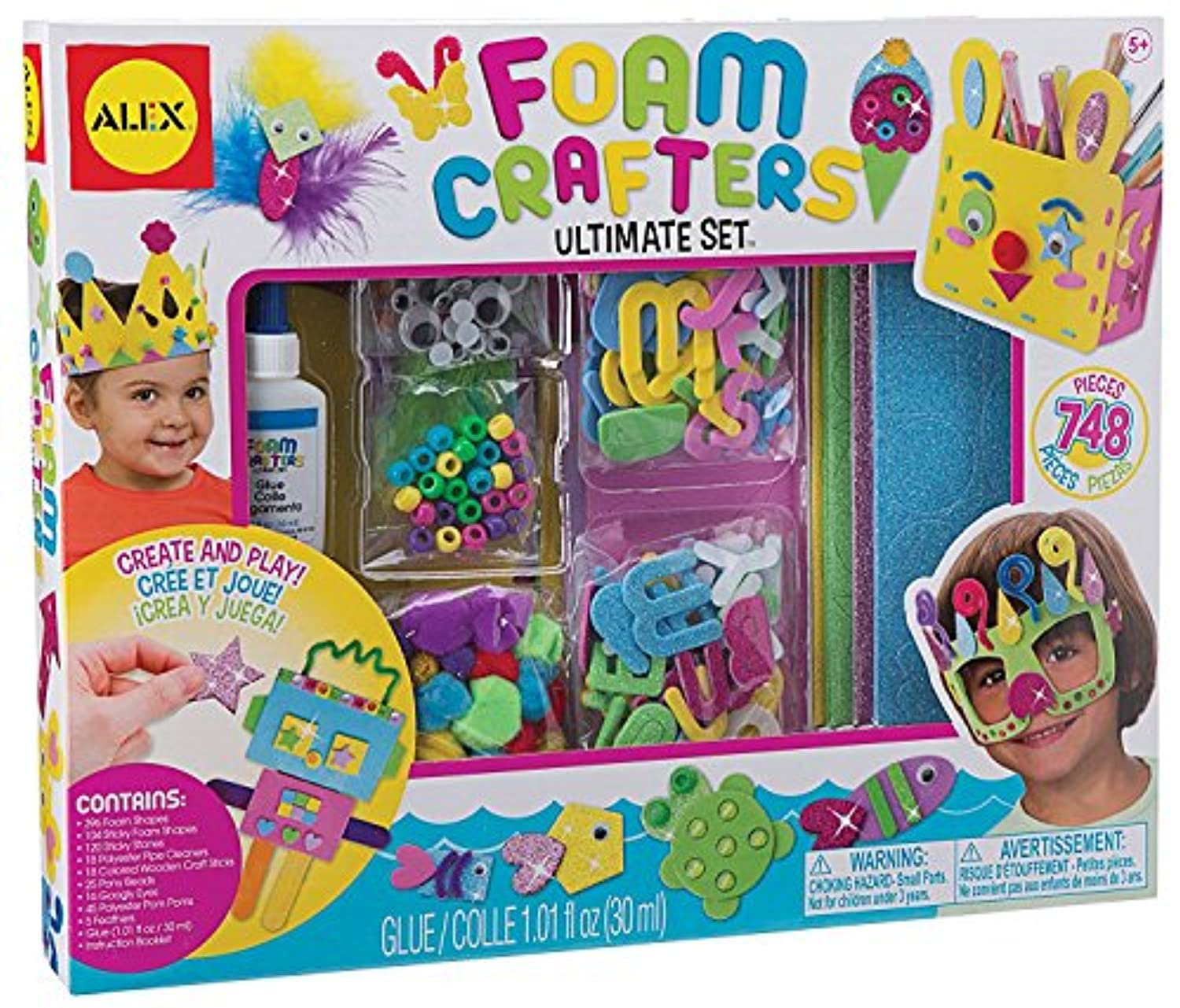 ALEX Toys Craft Foam Crafters Ultimate Set [並行輸入品]