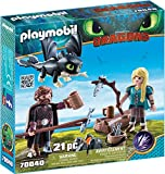 PLAYMOBIL How to Train Your Dragon III Hiccup & Astrid with Baby Dragon