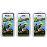 Ocean Nutrition 3 Pack of Green Marine Algae Fish Food, 10 Sheets Each, with Natural Garlic Extract for All Herbivorous & Omn