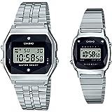 [カシオ] 腕時計 スタンダード ペアセット 天然ダイヤモンド付 A159WAD-1JF / LA670WAD-1JF