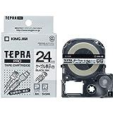 キングジム テープカートリッジ テプラPRO ケーブル表示ラベル 24mm SV24K [並行輸入品]