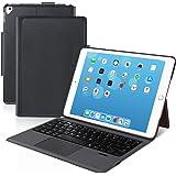 [iPad 10.2/10.5通用]Ewin® 新型 iPad キーボード ケース タッチパッド付き 一体式Blueto…