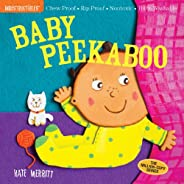 Indestructibles: Baby Peekaboo: Chew Proof · Rip Proof · Nontoxic · 100% Washable (Book for Babies, Newborn Bo