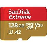 サンディスク microSD 128GB UHS-I U3 V30 書込最大90MB/s Full HD & 4K SanDisk Extreme SDSQXA1-128G-EPK エコパッケージ