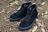 【新入荷】VANS ヴァンズ バンズSK8-HI MOCスケーターハイ モック(SUEDE)BLACK/BLACK(スエード ブラック/ブラック)メンズ レディース 靴 スニーカー ハイカット スケート 本革 黒 ボヘミアン 即納,WOMENSUS8.5(約25cm)