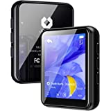 Jolike Bluetooth5.0 MP3プレーヤー 16GB内蔵 128GBまで拡張可能 フルタッチスクリーン スピーカー内臓 1.8インチ 合金製 HIFI超高音質 超小型軽量 ポータブルオーディオプレーヤー FMラジオ多機能音楽プレーヤーM5