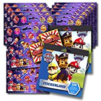 PAW PATROL Stickers Party Favors - Bundle of 12 Sheets 240+ Stickers plus 2 Specialty Stickers! [並行輸入品]