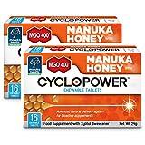 MANUKA HEALTH マヌカヘルス マヌカハニーサプリメント サイクロパワー マヌカハニー MGO400+ チュアブルタブレット 24g 2個セット